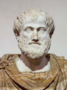 Aristotle believed in alchemy, geocentrism, and flies having four legs, but he had it nailed with the human condition.